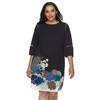 Plus Size Apt. 9® Floral High-Low Dress