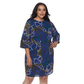 Plus Size Apt. 9® Floral High-Low Dress