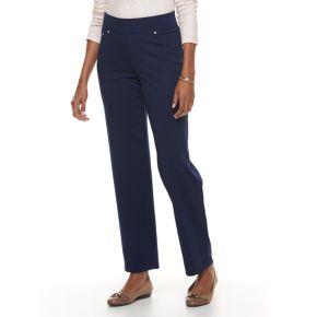 Women's Cathy Daniels Ponte Pull-On Pants
