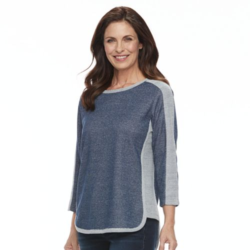 Women's Cathy Daniels Colorblocked Knit Top