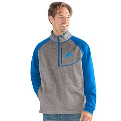 Men's Detroit Lions Mountain Trail Pullover Fleece Jacket