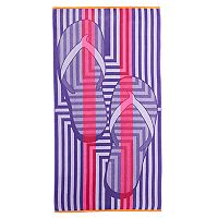 Celebrate Summer Together Flip-Flops Beach Towel