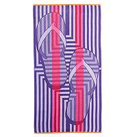 Celebrate Summer Together Flip-Flops Beach Towel