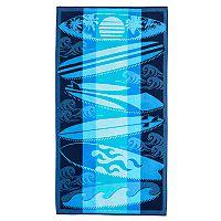 Celebrate Summer Together Surfboards Beach Towel