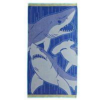 Celebrate Summer Together Sharks Beach Towel