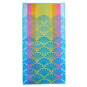 Celebrate Summer Together Shell Beach Towel