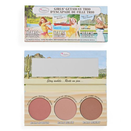 The Balm Girls' Getaway Trio Bronzer & Blush Set by Kohl's