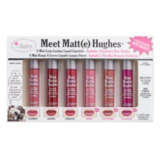 the Balm Meet Matte Hughes Mini Liquid Lipstick Set Vol. 3