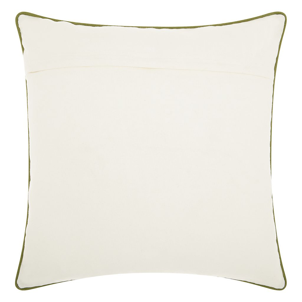 Mina Victory Home for the Holidays Christmas Tree in Car I Throw Pillow