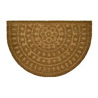 Mohawk® Embossed Medallion Coir Doormat - 23