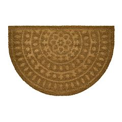 Mohawk® Embossed Medallion Coir Doormat - 23' x 35'