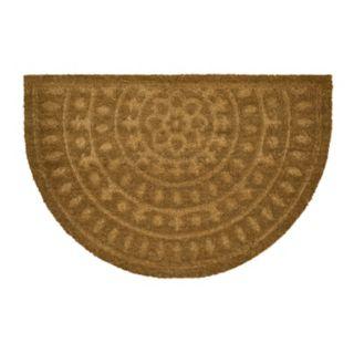 """Mohawk® Embossed Medallion Coir Doormat - 23"""" x 35"""""""