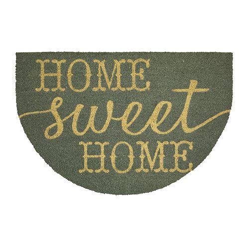 Mohawk Home® ''Home Sweet Home'' Slice Coir Doormat - 23'' x 35''