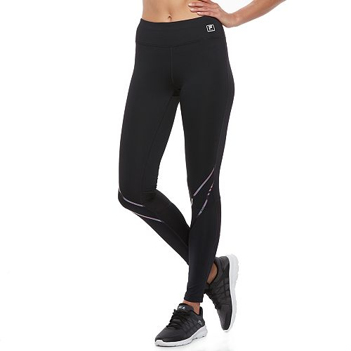 Women's FILA SPORT® Reflective Tru-Dry Racing Performance Leggings