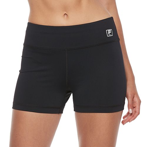 Women's FILA SPORT® Performance Fitted High-Waisted Bike Shorts