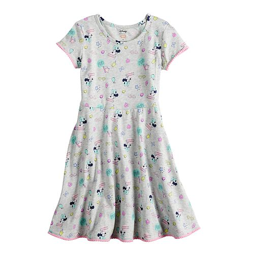 Disney Minnie Mouse Girls 4-10 Print Skater Dress by Jumping Beans®
