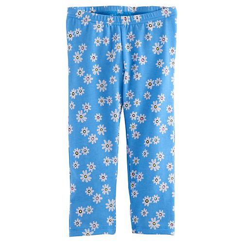 a9aaa603c2ef0 Toddler Girl Jumping Beans® Printed Capri Leggings