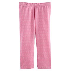 Toddler Girl Jumping Beans® Printed Capri Leggings