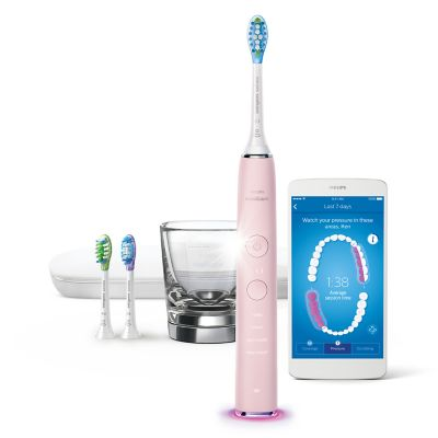 Philips Sonicare DiamondClean Smart 9300 Series Electric Toothbrush with Bluetooth