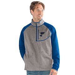 Men's St. Louis Blues Mountain Trail Pullover Fleece Jacket