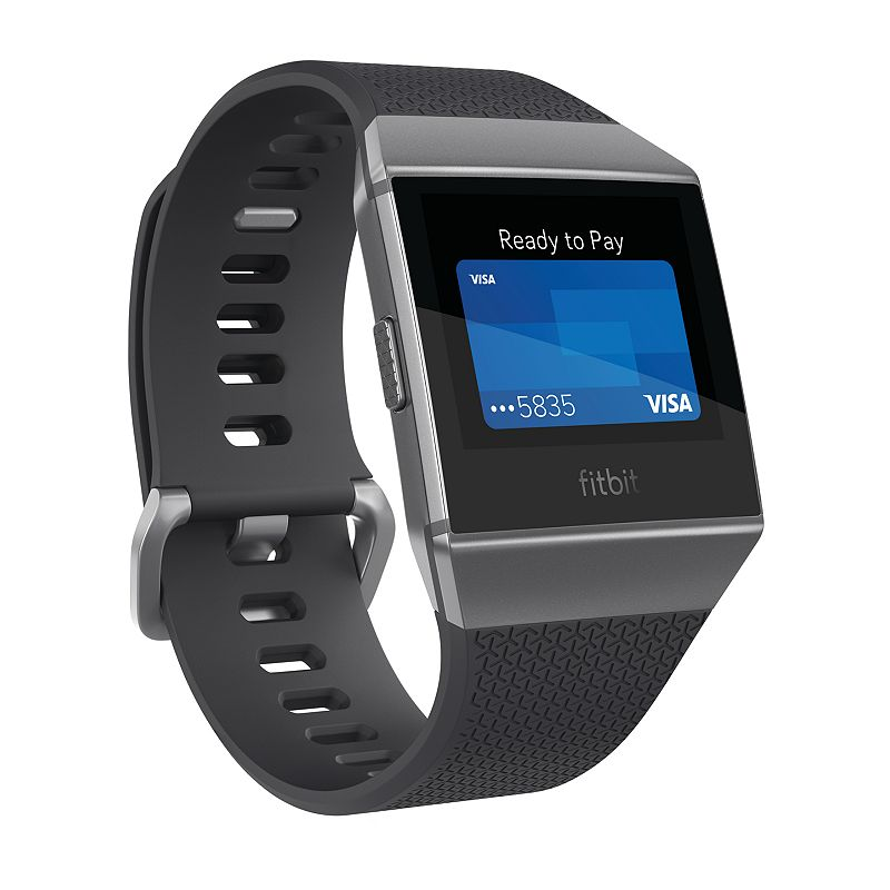 Fitbit Ionic Smartwatch Small/Large - Charcoal/Smoke Gray