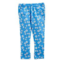 Girls 4-10 Jumping Beans® Printed Capri Leggings