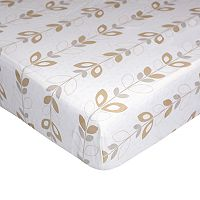 Nurture Basix 2-pc. Tan Twill Dust Ruffle & Crib Sheet Starter Set