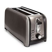 Oster 4-Slice Black Stainless Steel Toaster
