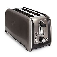 Oster 4-Slice Tinted Stainless Steel Toaster