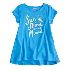 Girls 4-10 Jumping Beans® Graphic Swing Tee