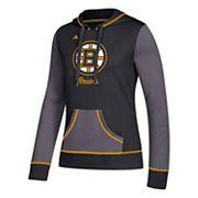 Women's adidas Boston Bruins Script Pullover Hoodie