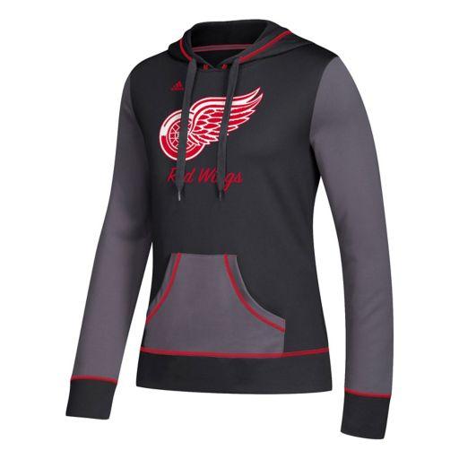 Women's adidas Detroit Red Wings Script Pullover Hoodie