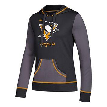 Women's adidas Pittsburgh Penguins Script Pullover Hoodie
