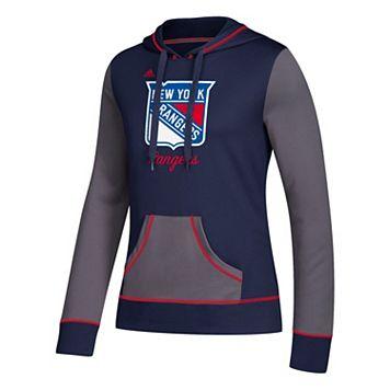 Women's adidas New York Rangers Script Pullover Hoodie