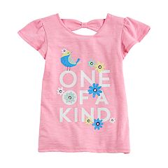 Girls 4-10 Jumping Beans® Flutter Cross-Back Tee