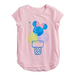 Disney's Minnie Mouse Girls 4-10 Ice Cream Cone Graphic Tee by Jumping Beans®