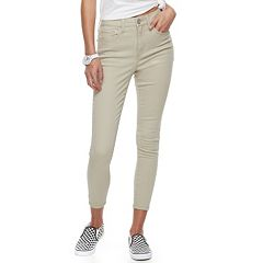 Juniors' SO® High-Waisted Ankle Jeggings