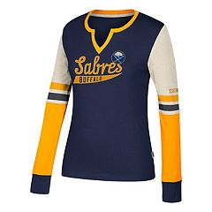 Women's CCM Buffalo Sabres Notch-Neck Tee