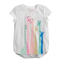 Girls 4-10 Jumping Beans® Hi-Low Graphic Tee