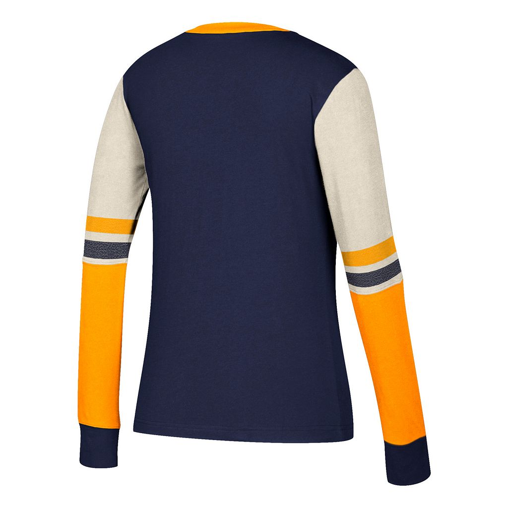 Women's CCM St. Louis Blues Notch-Neck Tee