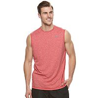 Big & Tall Nike Swim Heathered Sleeveless Hydroguard Tee