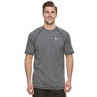 Big & Tall Nike Swim Heathered Hydroguard Tee