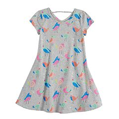 Girls 4-10 Jumping Beans® Birdies Swing Dress