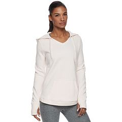Women's Tek Gear® V-Neck Fleece Hoodie