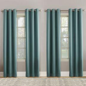 Sun Zero 4-pack Tari Room Darkening Window Curtain