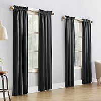 Sun Zero 4-pack Shawn Thermal Window Curtain