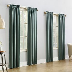 Sun Zero 4-pack Shawn Thermal Window Curtain