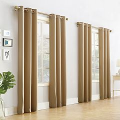 No918 4-pack Crawford Textured Window Curtain