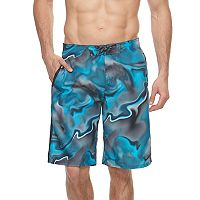 Big & Tall Nike Swim Amp Axis Diverge Brushed Microfiber 11-inch E-Board Shorts