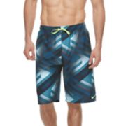 Big & Tall Nike Swim Tidal Riot Breaker Brushed Microfiber 11-inch Volley Shorts